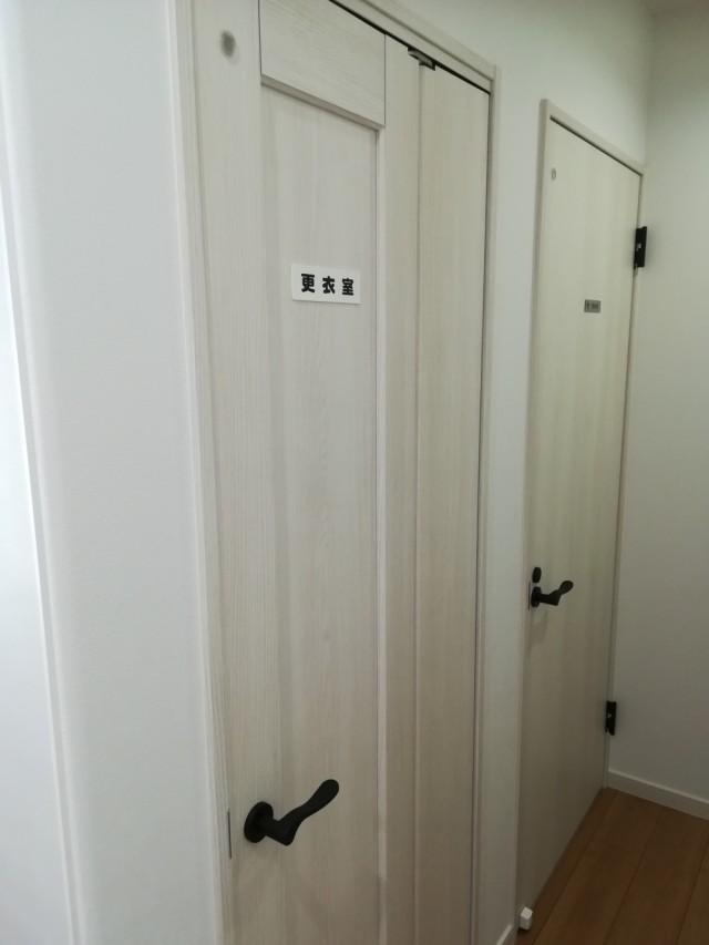 更衣室もございます