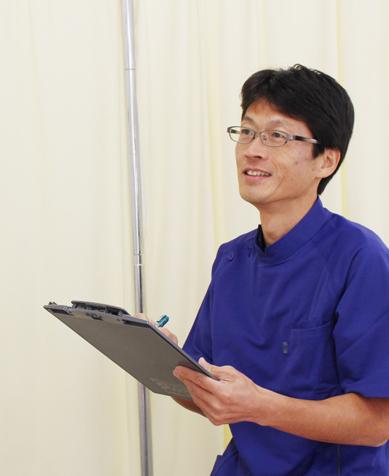 愛知県豊橋市、治療歴25年以上のベテラン しばた接骨院 柴田賢二 院長