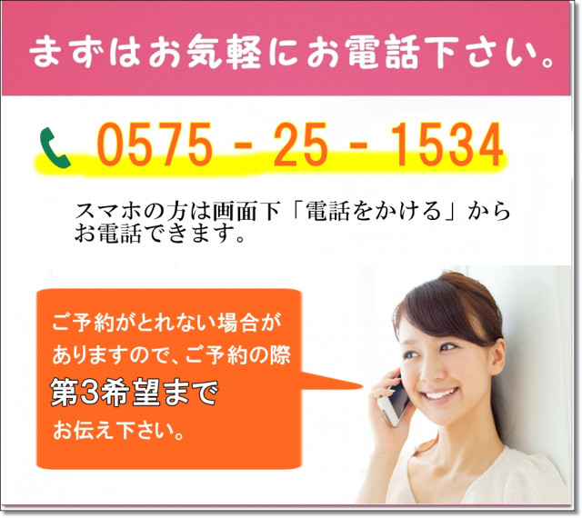 お問い合わせ 電話番号
